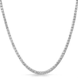 Harlembling 925 Silver Diamond Tennis Chain
